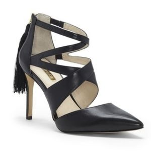 Louise et Cie Jemmy Strappy Stiletto Pump Tassle 7